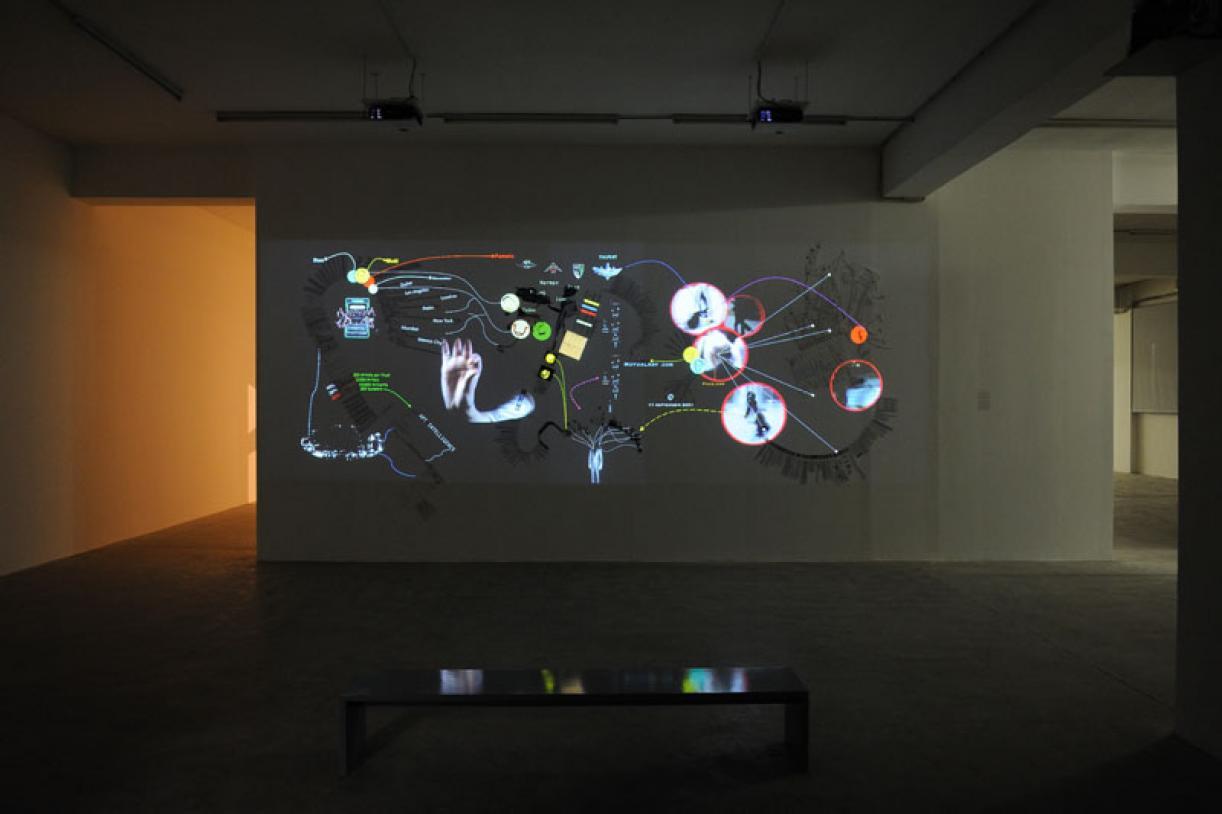Walid Raad, Exhibition view, 2012