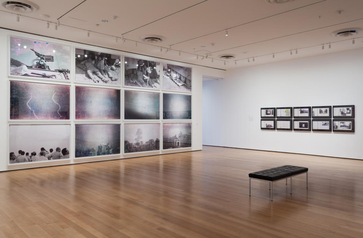 Installation view, MoMA, 2015