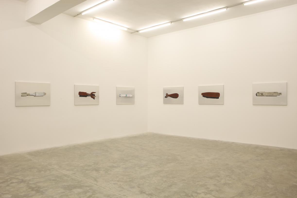 Marwan Rechmaoui, Exhibition view, 2011