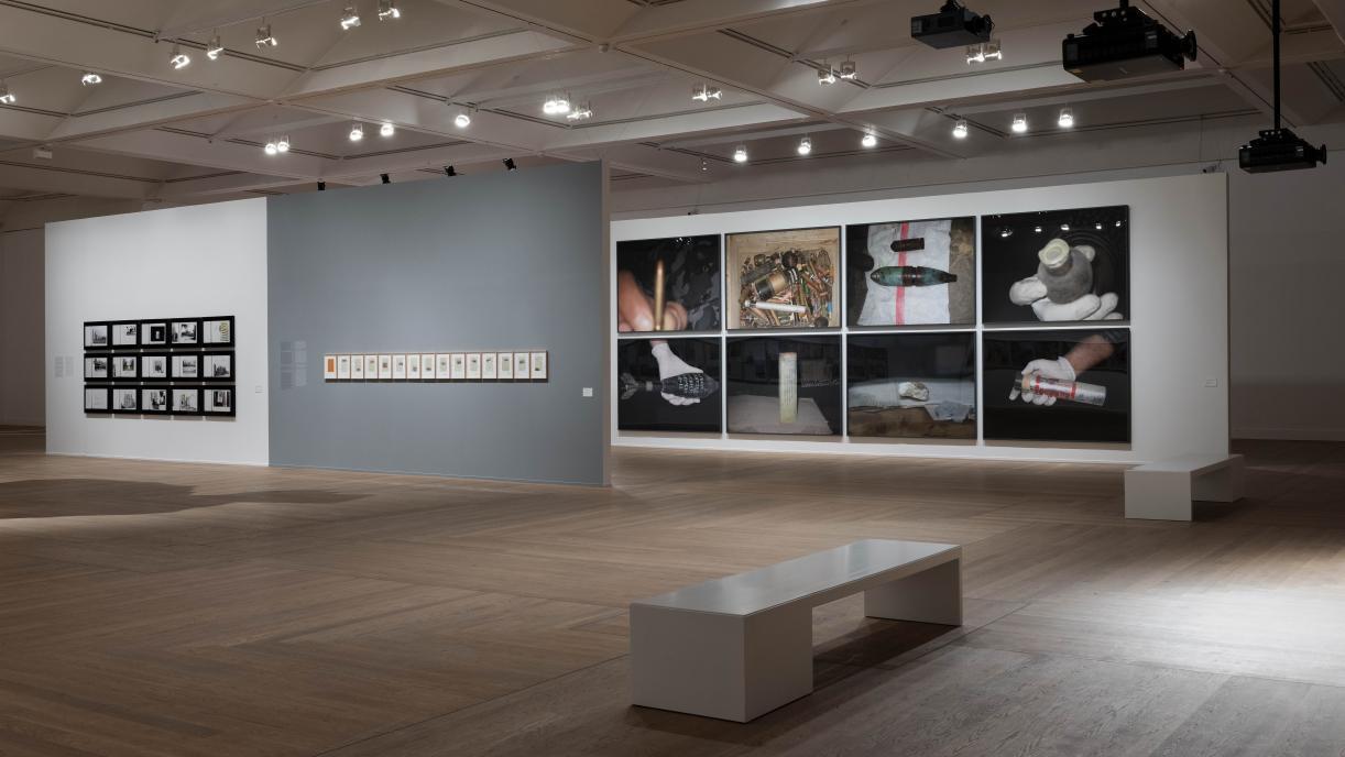 Installation view, Moderne Museet, 2020