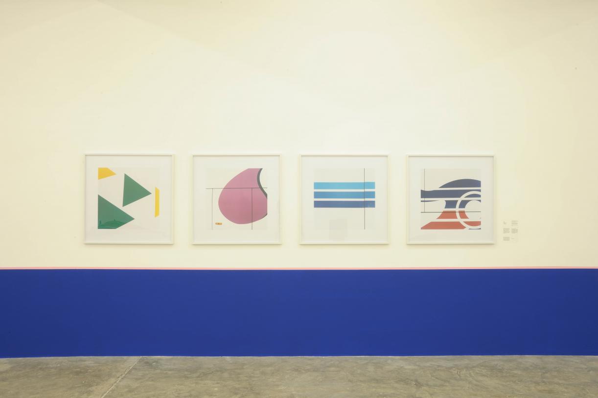 Yto Barrada, Exhibition view, 2010
