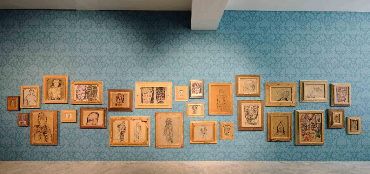 Preface to the ninth edition: On Marwan Kassab-Bachi (1934-2016), 2017. Installation view Sfeir-Semler Gallery, Beirut, 2017