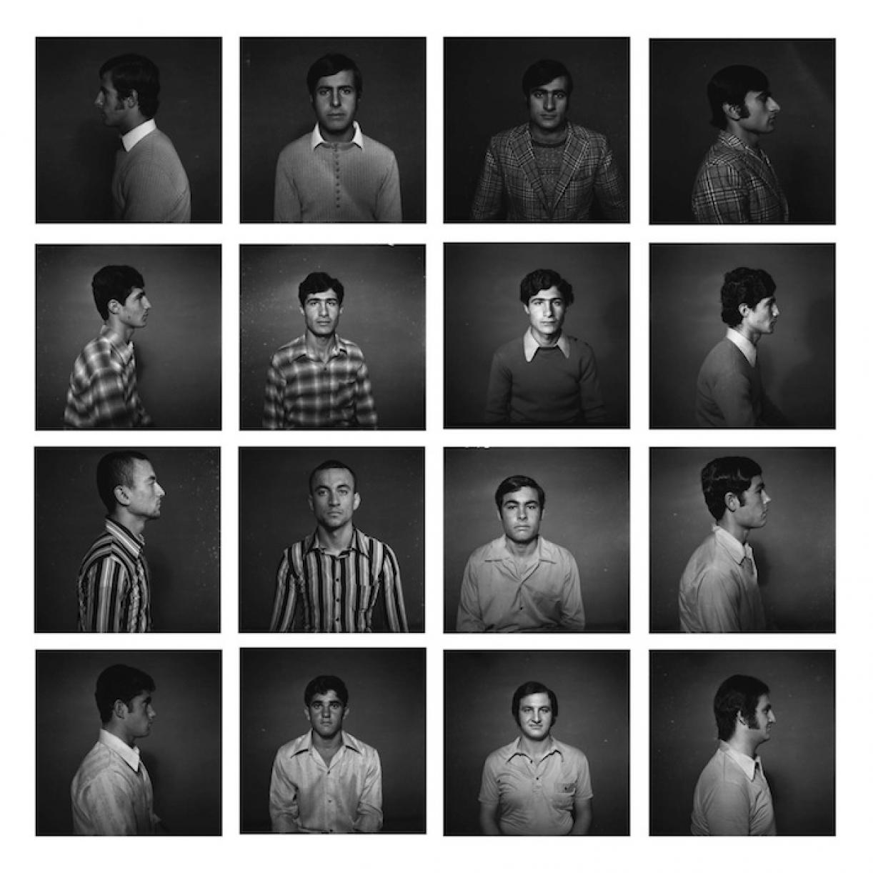 Before they got their military training, Saida early 1970s, 2006, Set of 16 Silver prints, framed, 30 x 30 cm each