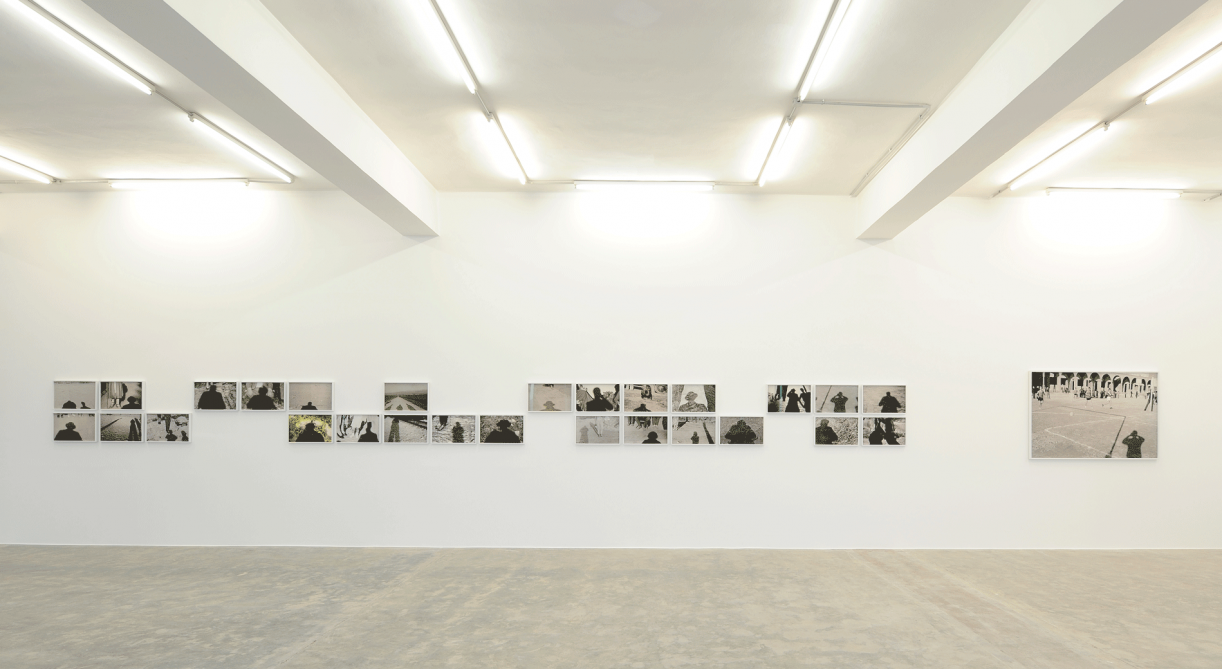 A Photographer's Shadow, 2017, 28 pigment inkjet prints on Photo Rag Hahnemuehle paper, various dimensions. Installation view Sfeir-Semler Gallery, Beirut