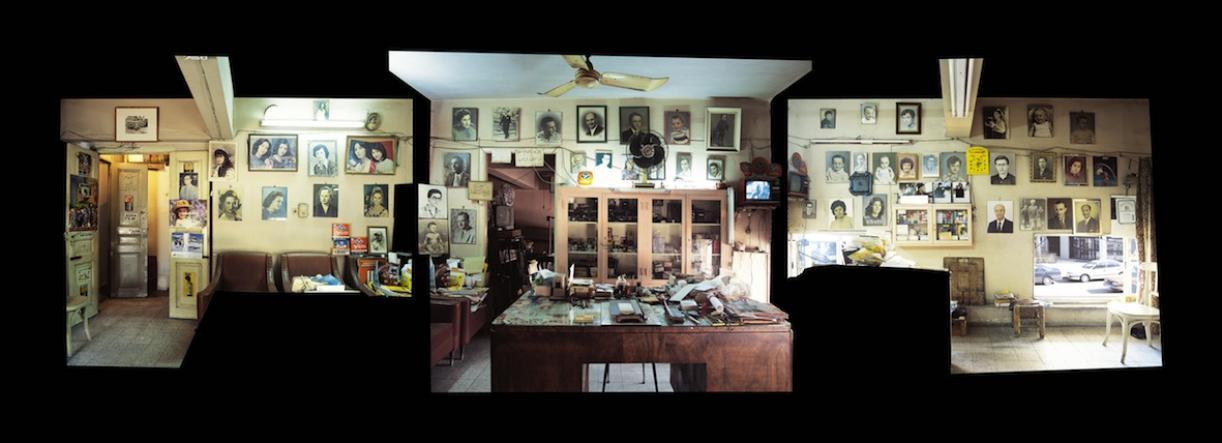 Studio Sheherazade, Reception Space, 2006, C-print, 110 x 300 cm