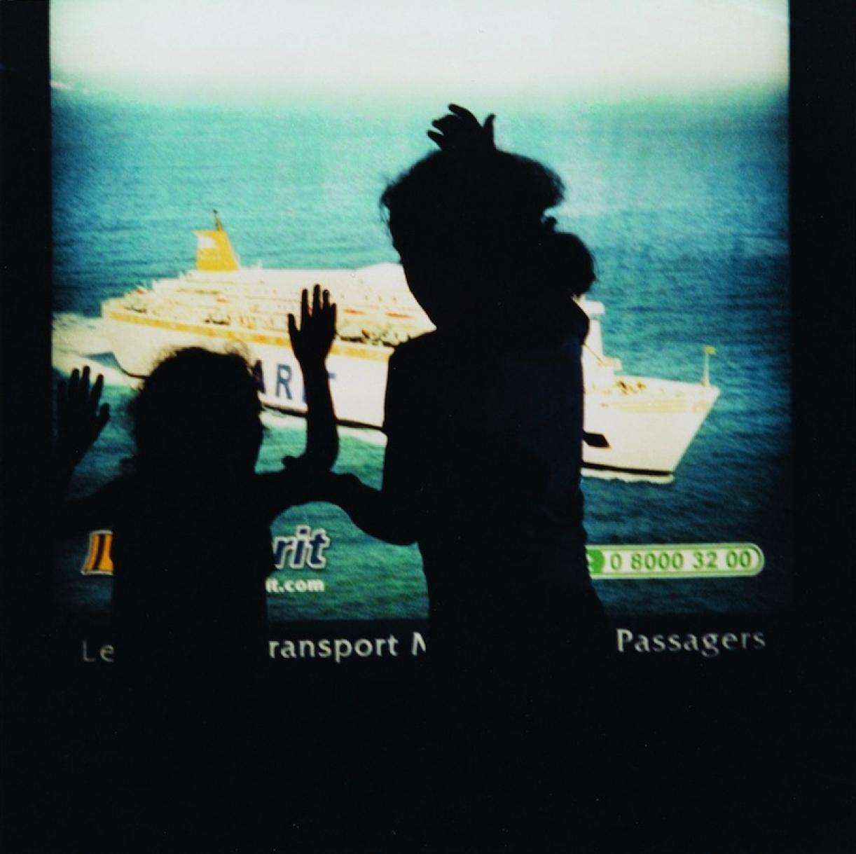 The Strait Project, Advertisement lightbox, Tangier, 2003, 60 x 60cm