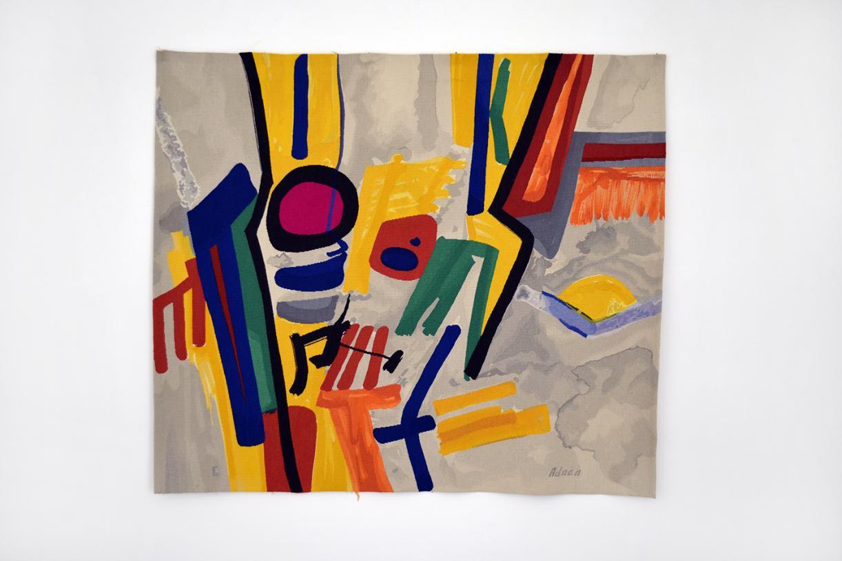 Jazz, 1999, Wool Tapestry, 180 x 155 cm, Unique