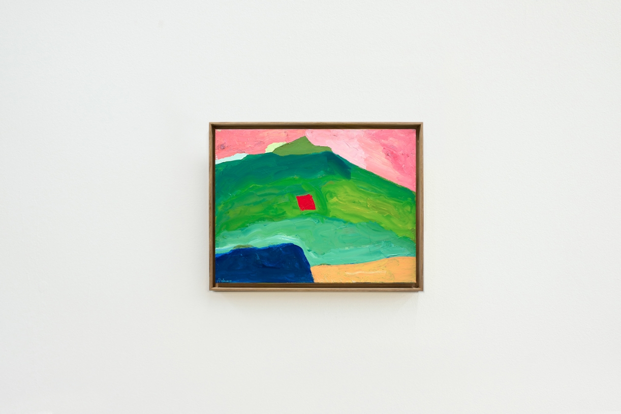 Untitled, c. 1980, Oil on canvas, 35 x 45.5 cm