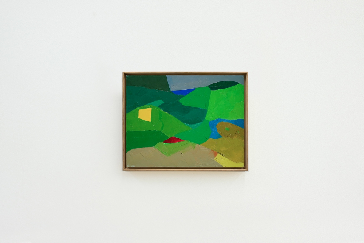 Untitled, c. 1983-1986, Oil on canvas, 35 x 45.5 cm