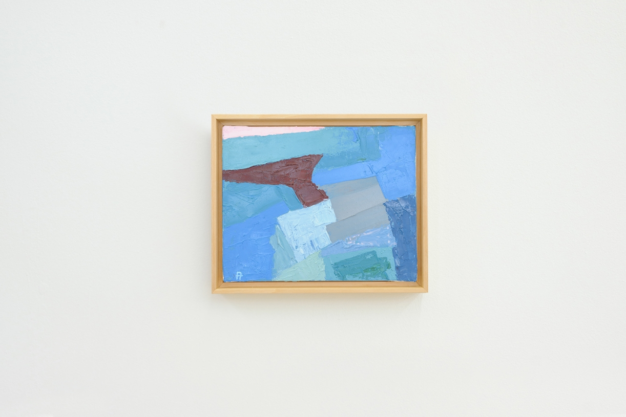 Untitled, 1970-90, Oil on canvas, 20 x 25 cm