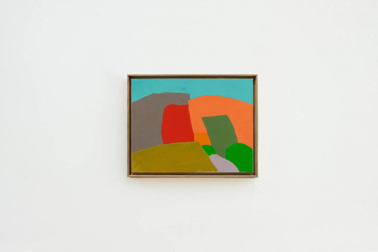 Untitled, 2013, Oil on canvas, 35 x 45 cm