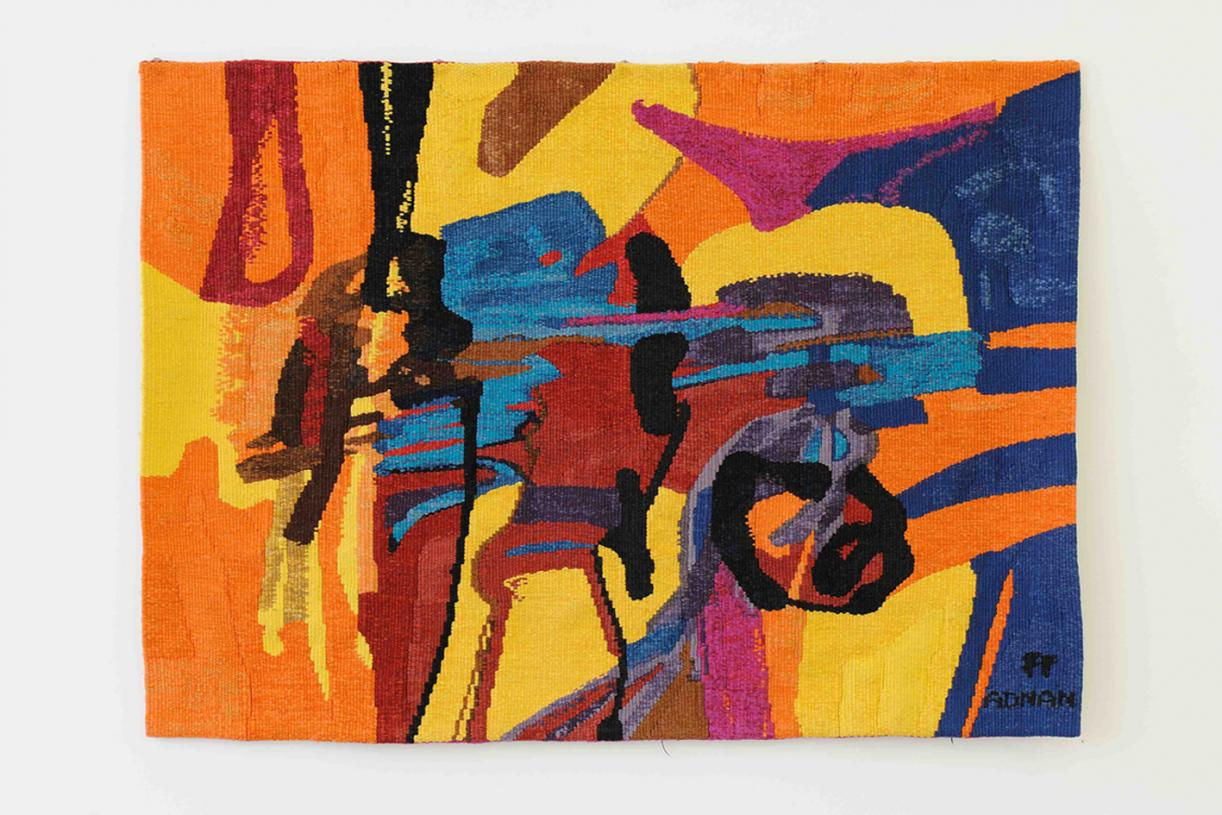 California, 1971, Wool tapestry,180 x 130 cm