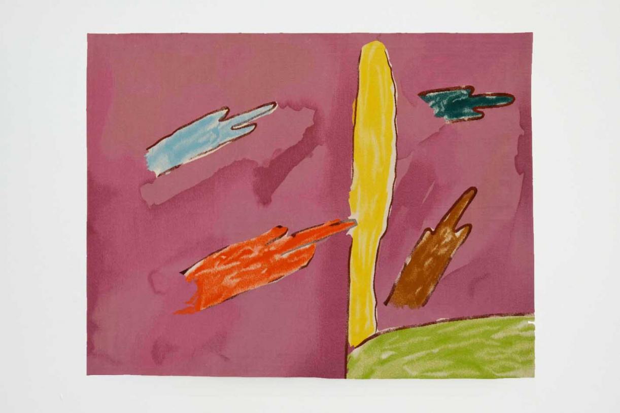 Désert Rose, 2019, Wool tapestry, 157 x 200 cm, Ed. 1/1