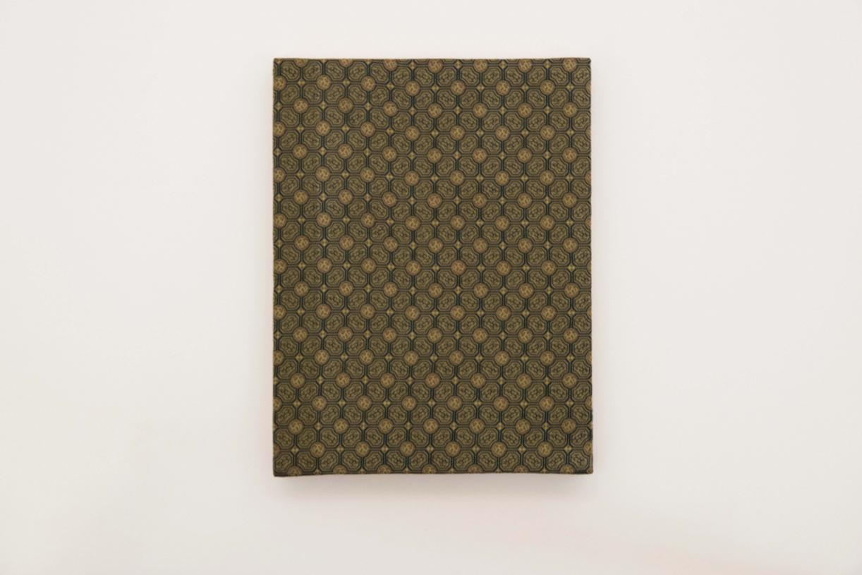 The War poem, 1988, Back cover