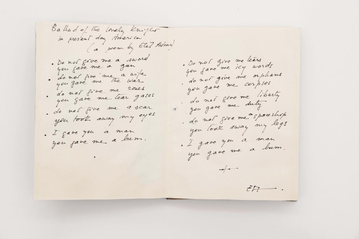 The War poem, 1988, p. 2-3