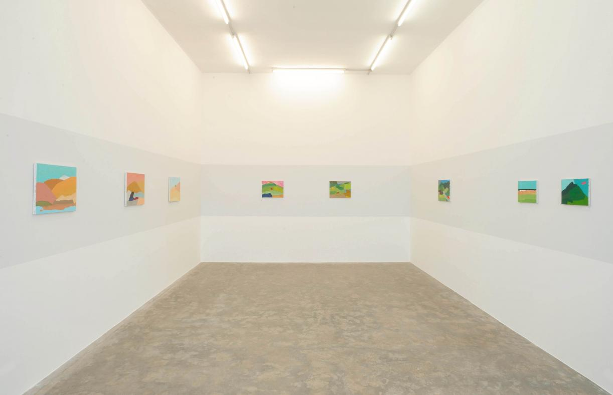 Etel Adnan, 2010, Exhibition view, Sfeir-Semler Gallery Beirut