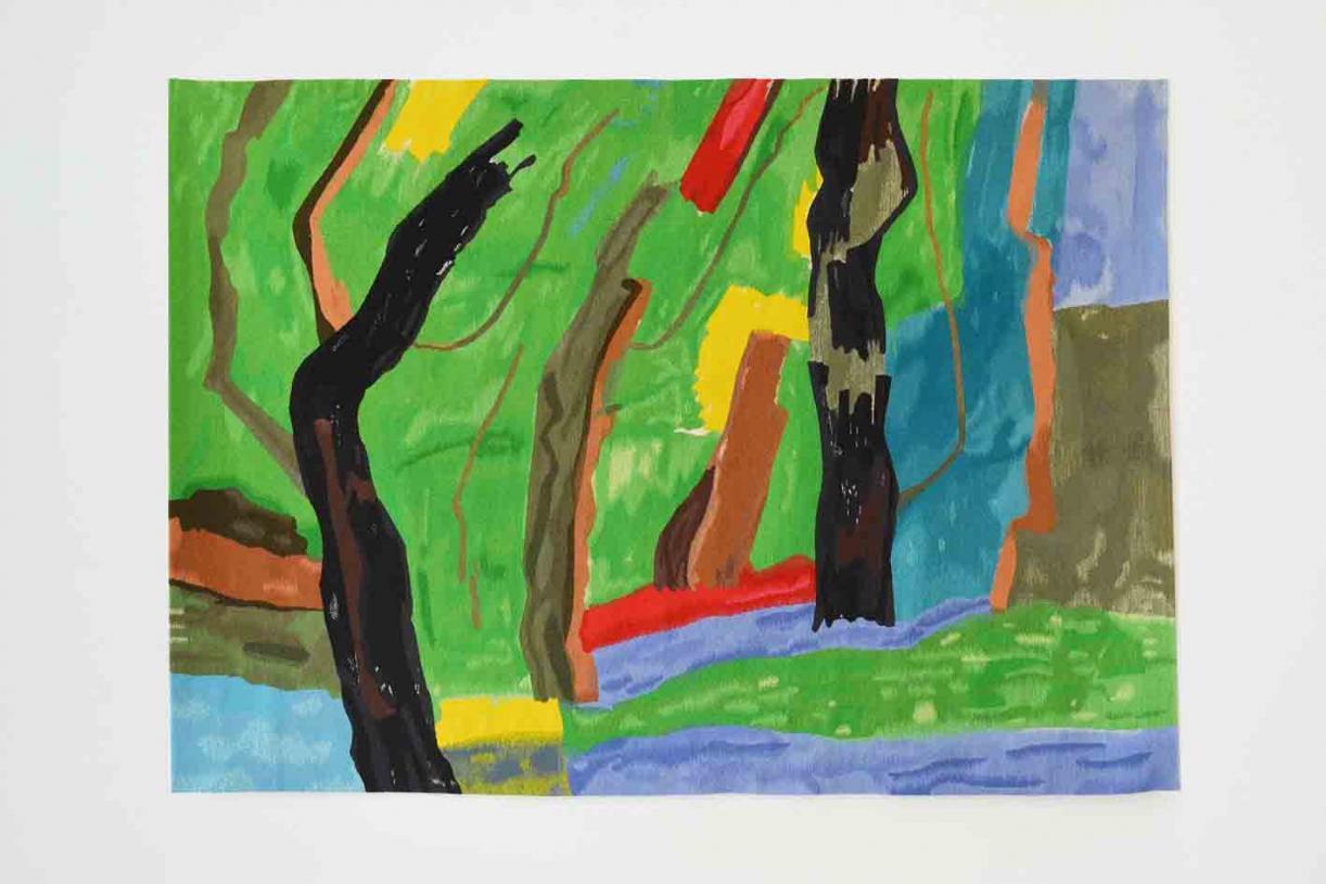 Marais Ensoleillé, 1967 - 2017, Wool Tapestry, 177 x 220 cm, Ed. 1/3 