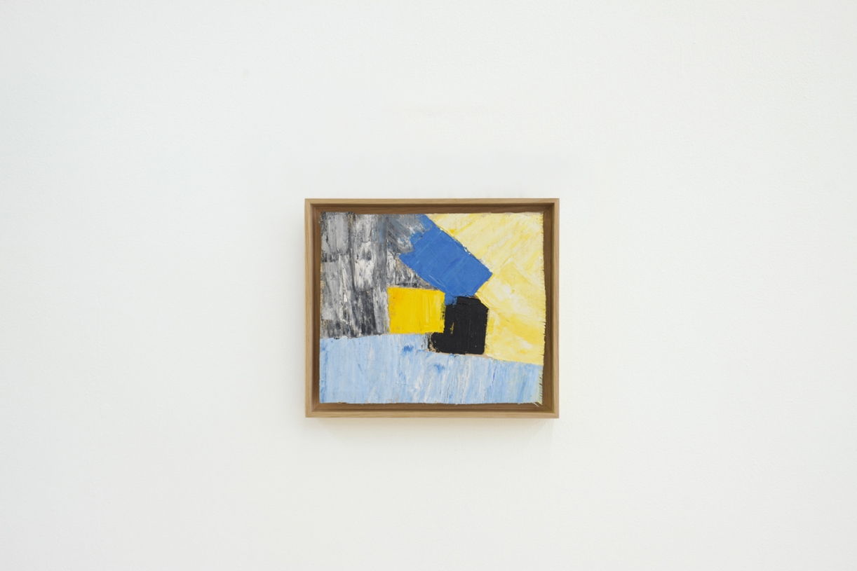 Untitled, 1961/1962, Oil on canvas, 22.5 x 26.5 cm