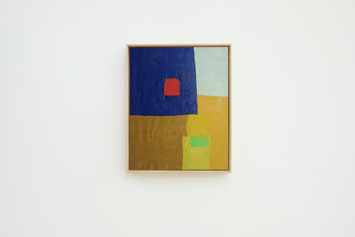 Untitled, 1961/1962, Oil on canvas, 50.5 x 43 cm
