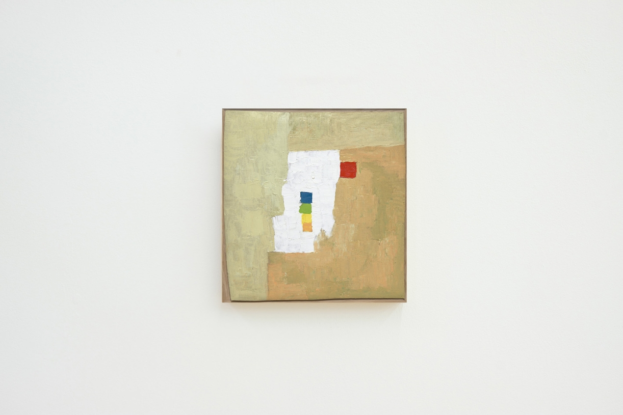 Untitled, 1976, Oil on canvas, painted on reverse, 58 x 61 cm, MoMa Collection