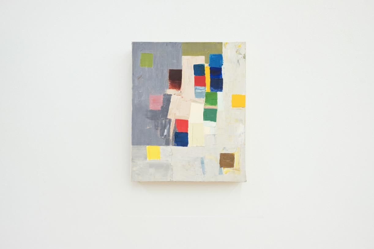 Untitled, 1970s, Oil on canvas, 46 x 37.8 cm
