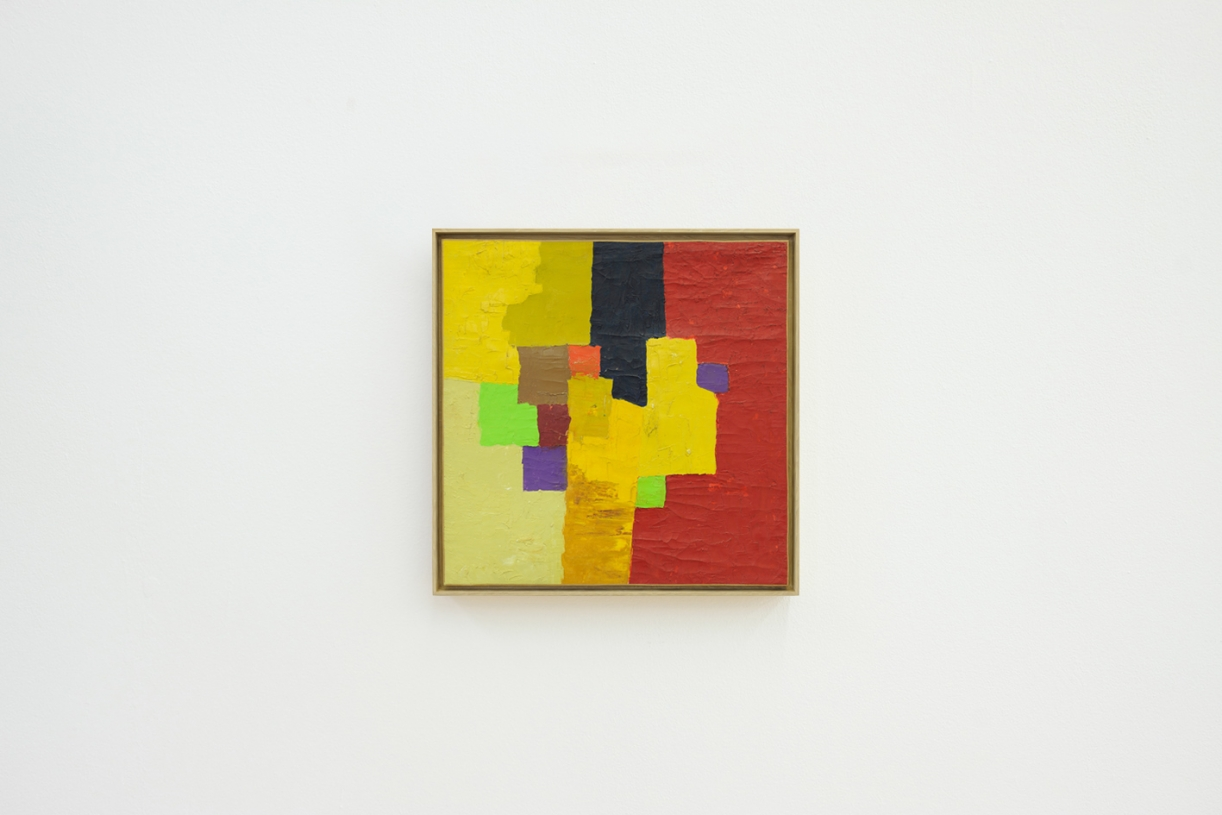 Untitled, 1961/1962, Oil on canvas, 51 x 51 cm