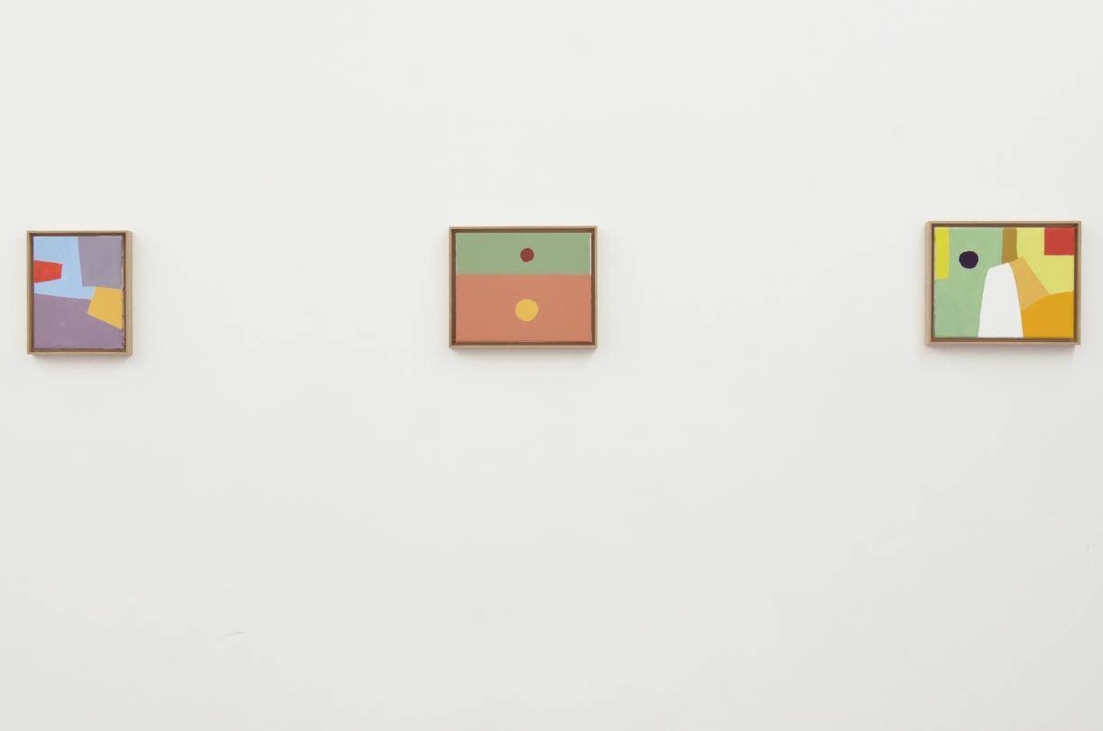 Etel Adnan: Works 1956 - 2012, 2012, Exhibition view, Sfeir-Semler Gallery Hamburg