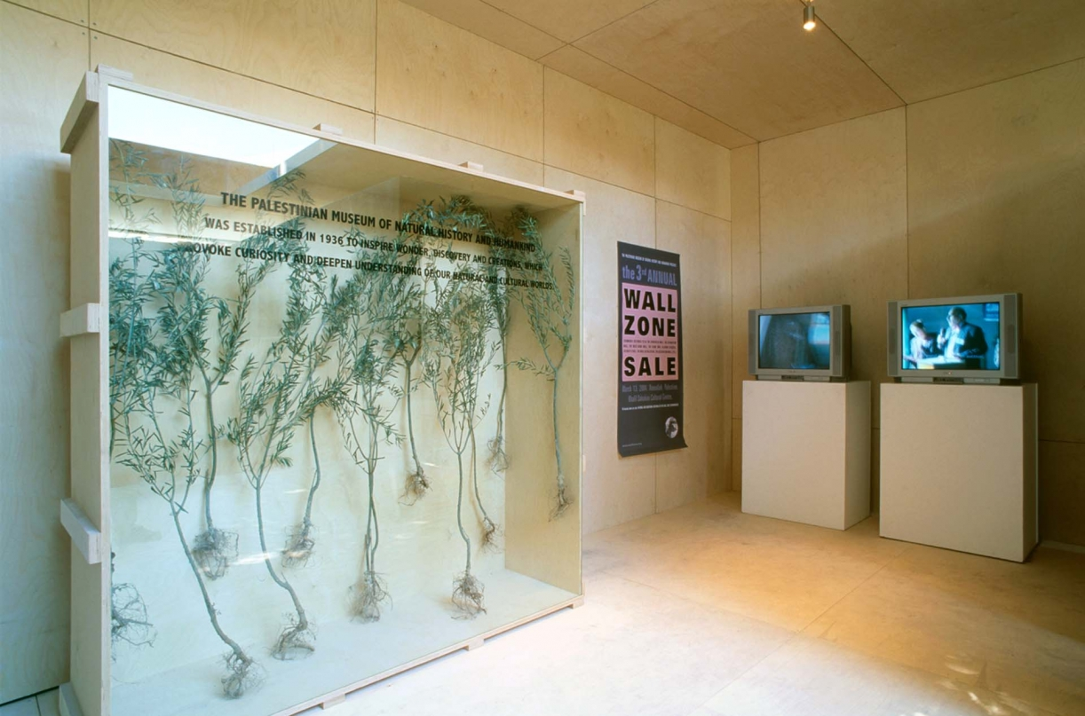 The Building of the New Museum, 2006, Exhibition view,EMST / Acropolis Museum, Athens   