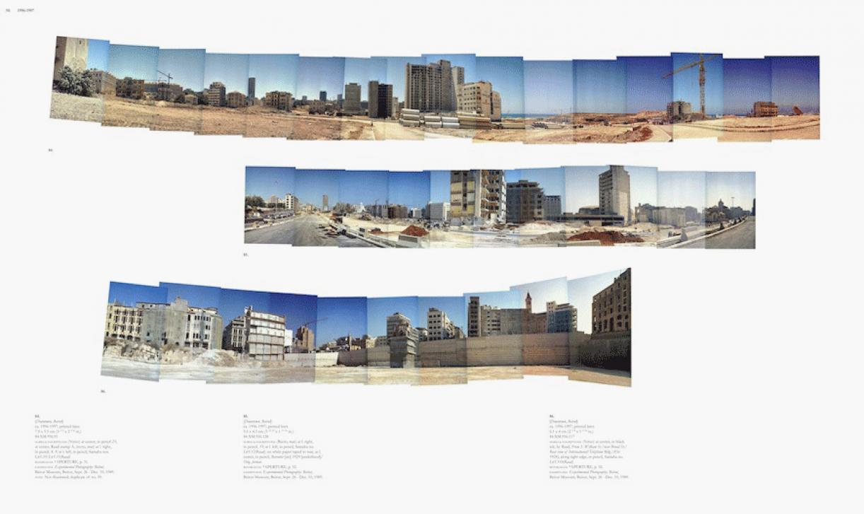 Sweet Talk. Commissions (Beirut)_1987_050, 1987/2010, archival inkjet print, 113,5 x 189,5 cm