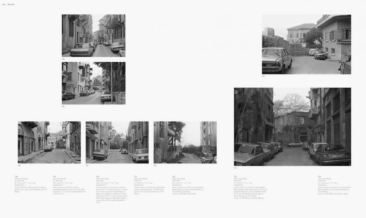 Sweet Talk. Commissions (Beirut)_1987_240, 1987/2010, archival inkjet print, 113,5 x 189,5 cm