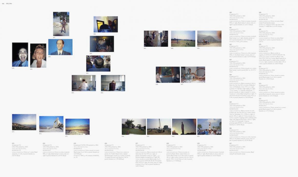 Sweet Talk. Commissions (Beirut)_1987_446, 1987/2010, archival inkjet print, 113,5 x 189,5 cm