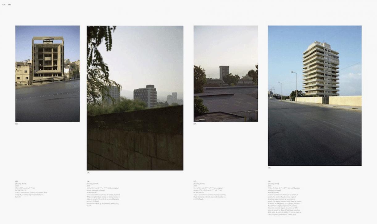 Sweet Talk. Commissions (Beirut)_1987_639, 1987/2010, archival inkjet print, 113,5 x 189,5 cm