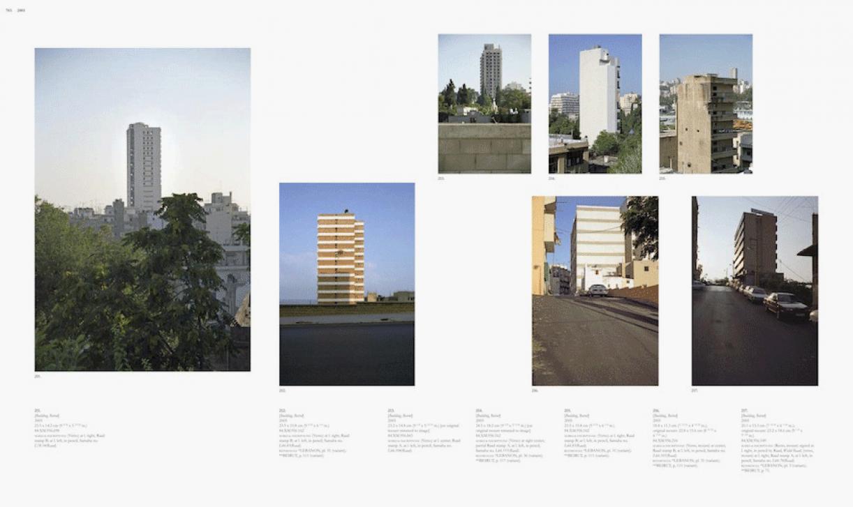 Sweet Talk. Commissions (Beirut)_1987_703, 1987/2010, archival inkjet print, 113,5 x 189,5 cm