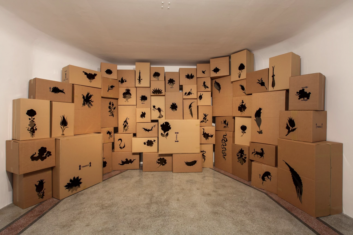 Another letter to the reader, 2015.Installation view, A Letter to the reader, Kasa Gallery, 14. Istanbul Biennial, 2015