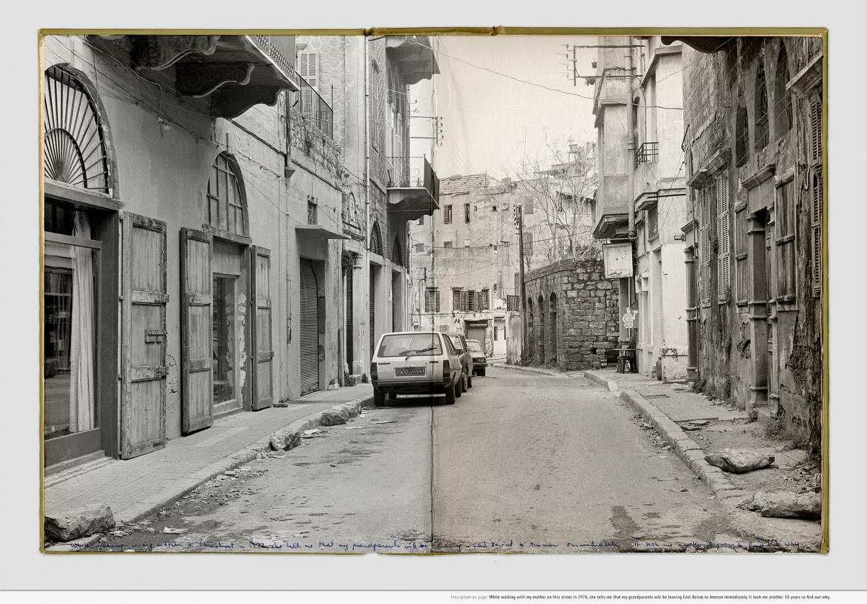 Sweet Talk. Commissions (Beirut) _ 1987.007, 1987-2019, inkjet print, 54.3 x 76.3 x 3.5cm, framed