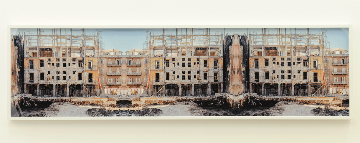 Sweet Talk. Commissions (Beirut)_Plate 1994-188, 1994/2017. Archival ink jet print, framed, 56.4 x 210.6 cm