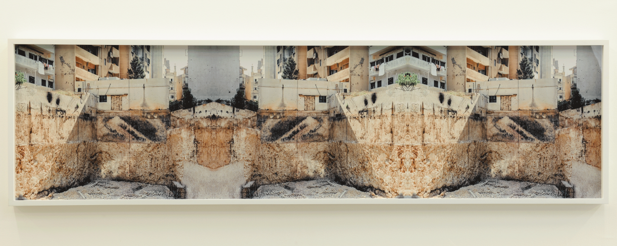 Sweet Talk. Commissions (Beirut)_Plate 1994-0662, 1994/2017. Archival ink jet print, framed, 56.4 x 210.6 cm