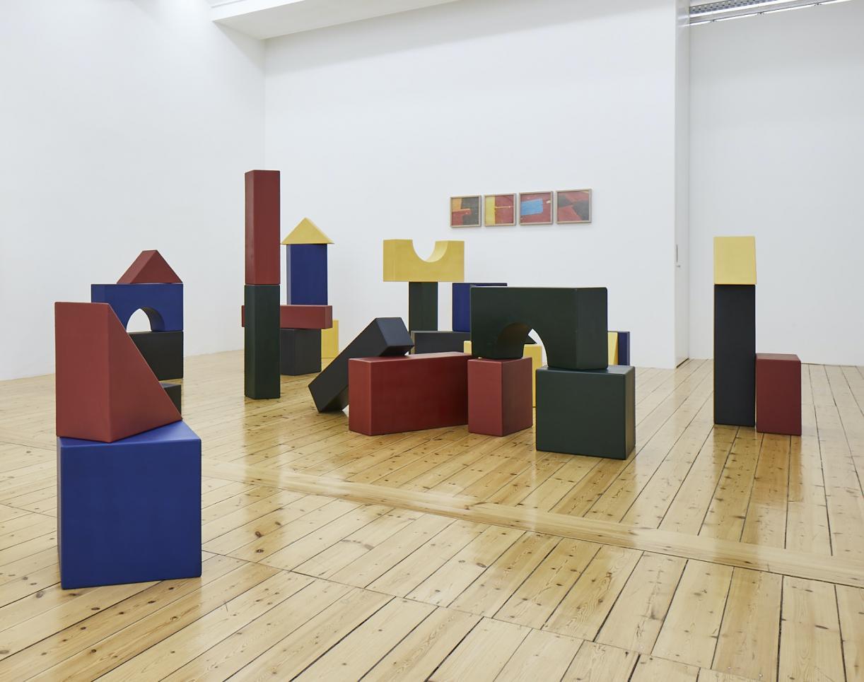Yto Barrada, Lyautey Unit Blocks, exhibition view
