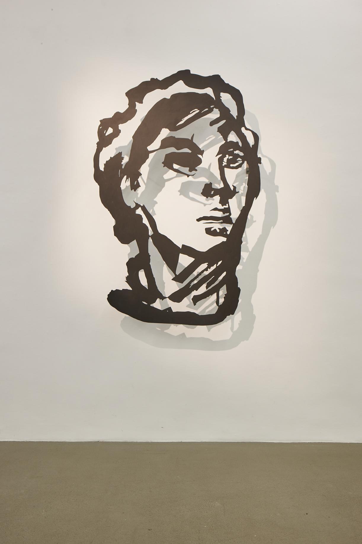 William Kentridge, Head (Chinese Woman), 2016