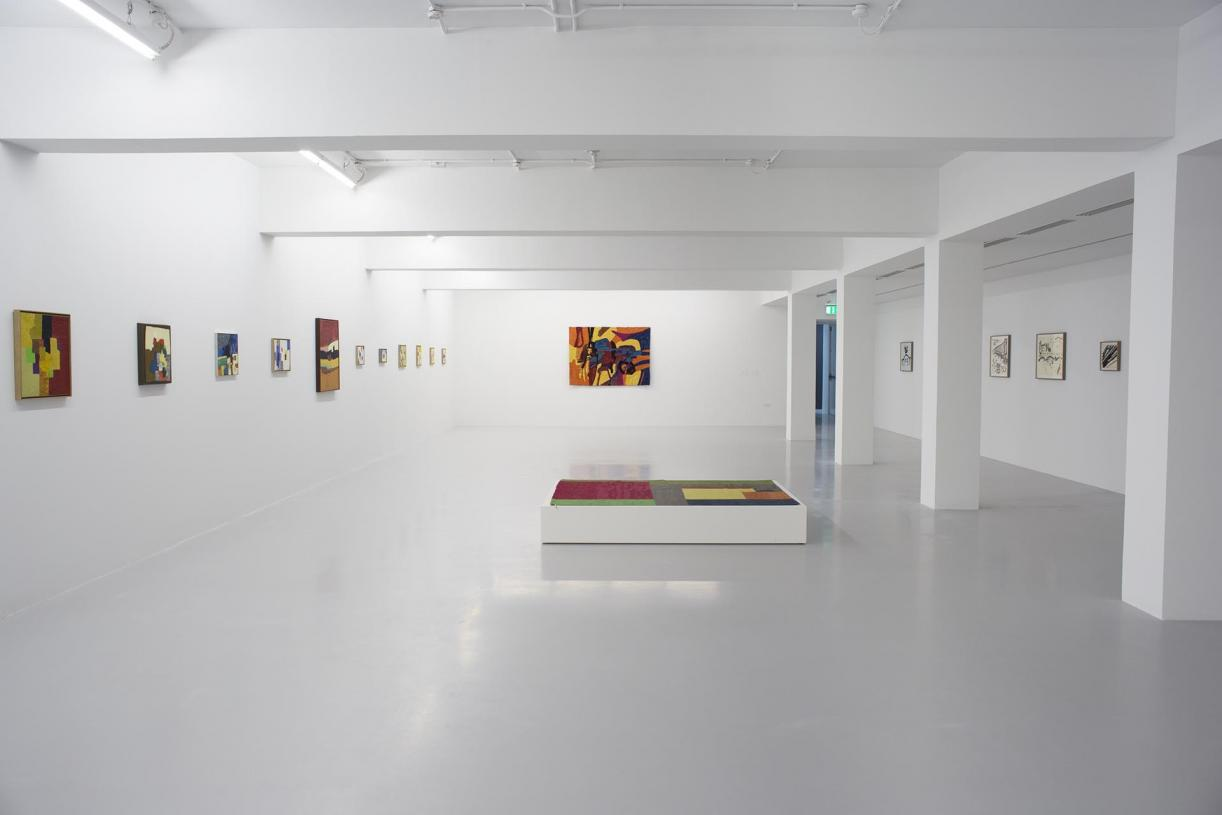 Etel Adnan in All Her Dimensions, 2014, Exhibition view, Mathaf: Arab Museum of Modern Art, Doha