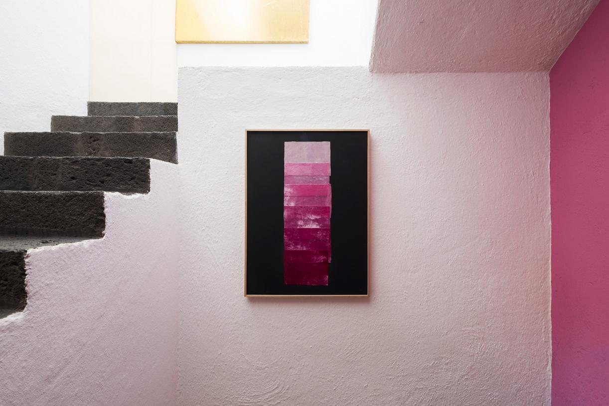 Double Skin, 2019, Exhibition view Casa Luis Barragán, Mexico City, 2019