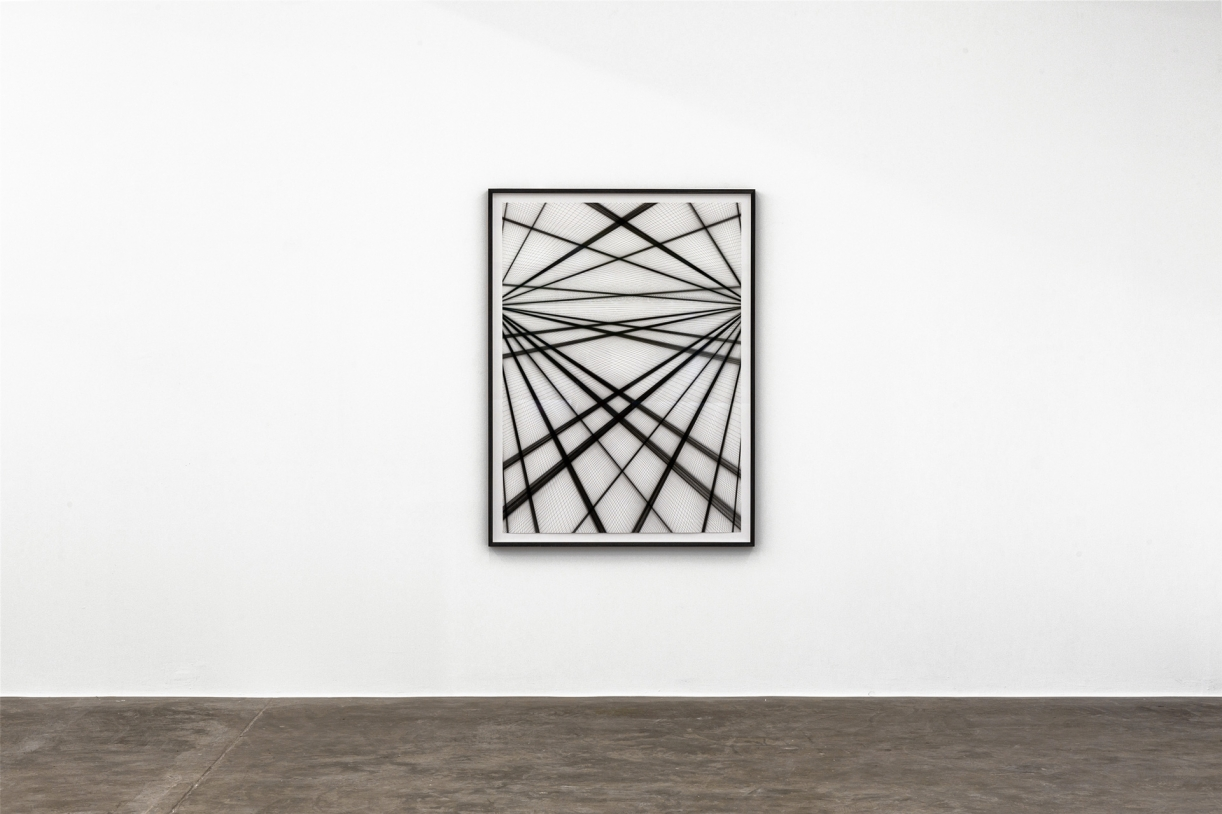 Timo Nasseri, I saw a broken Labyrinth #14, 2017, Ink and pencil on paper, 145 x 104 cm