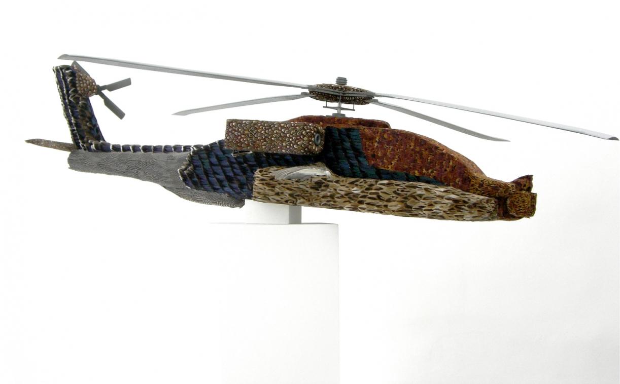 Timo Nasseri, Apache, 2006, Mixed media, 221 x 70 x 40 cm, Unique