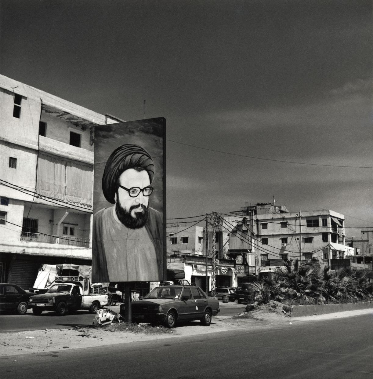 Balthasar Burkhard, Dahieh I - Beirut, 2006, Vintage silver print, 47 x 44 cm, Unique