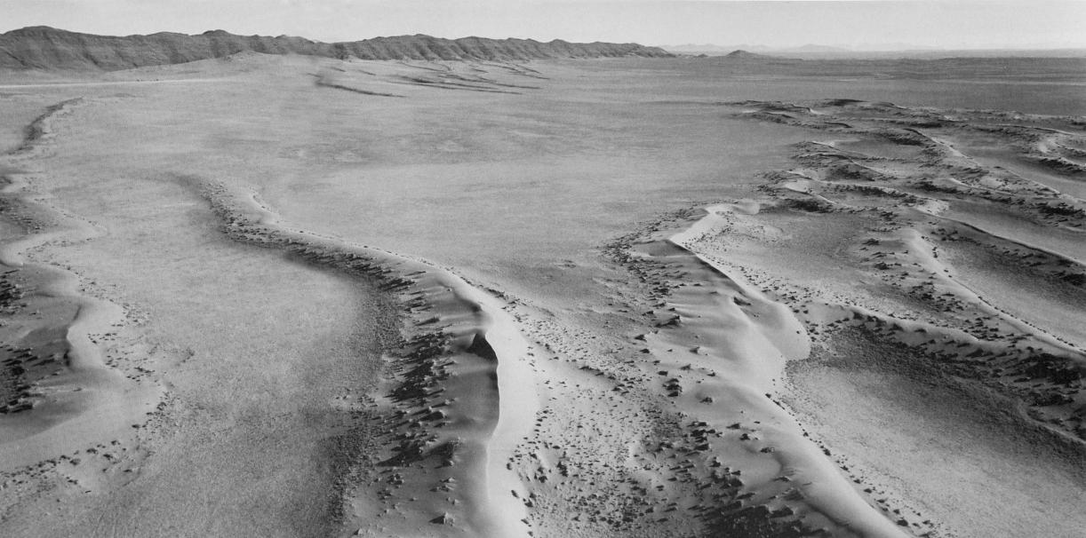 Balthasar Burkhard, Desert, 2000, Silver gelatine print, 125 x 250 cm
