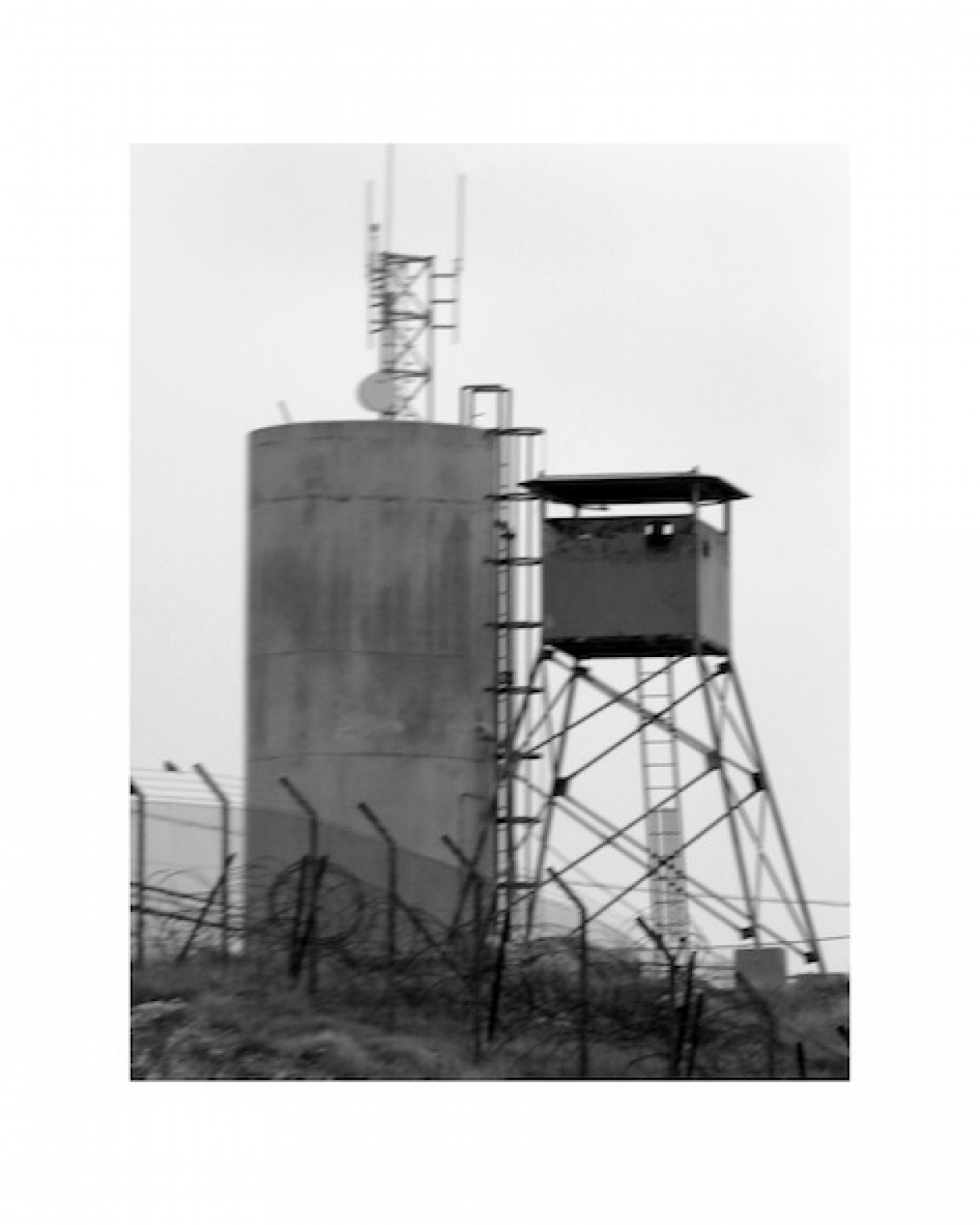 Watchtowers, West Bank, 2008, Complete set of 26 plates, inkjet print on archival photo paper, 50 x 40 cm, each, Ed.8 + 2 AP