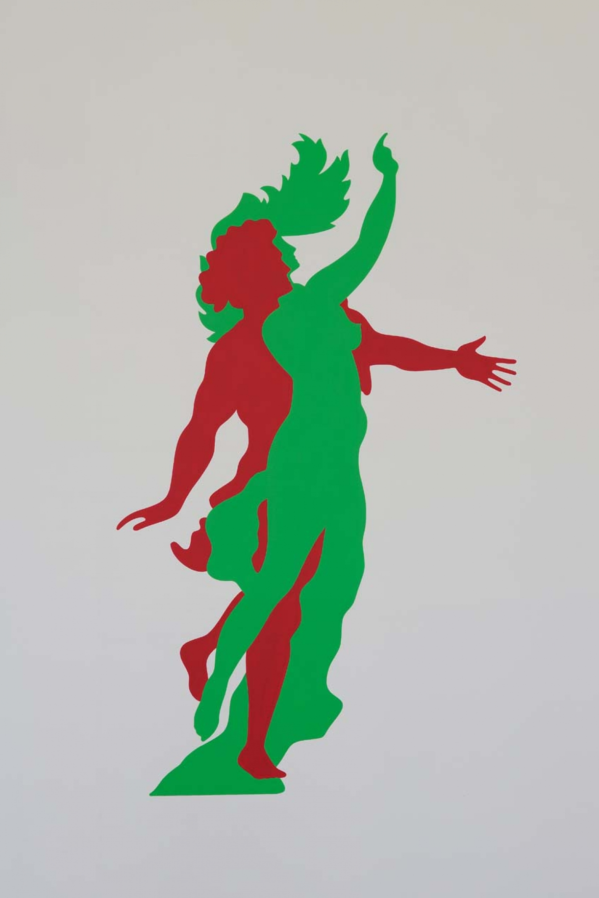 Apollo and Daphne, 1987, Wall painting, Variable dimensions, Unique, Detail 4