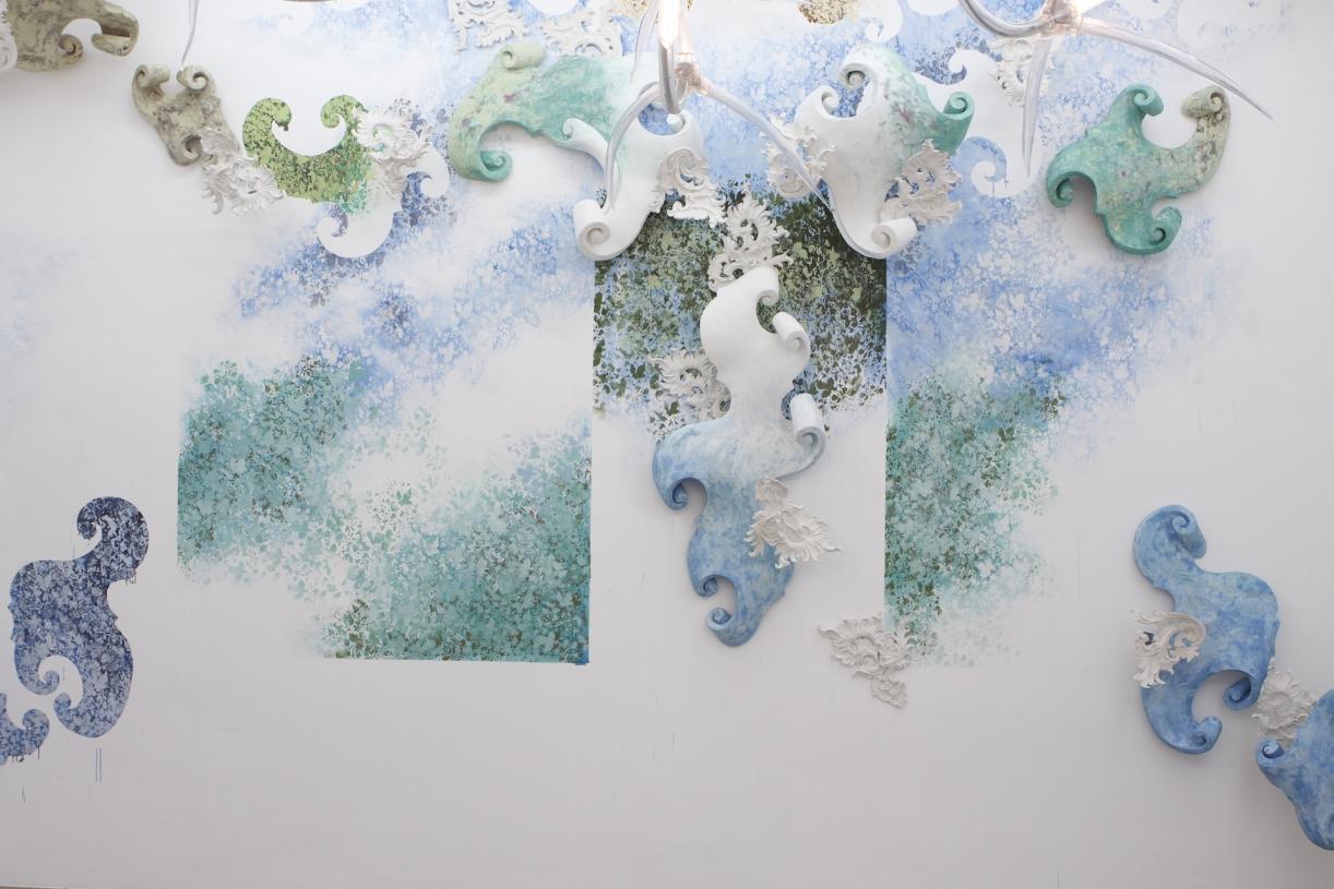Moritz Altmann, Morceaux de Fantaisie, 2008, exhibition view