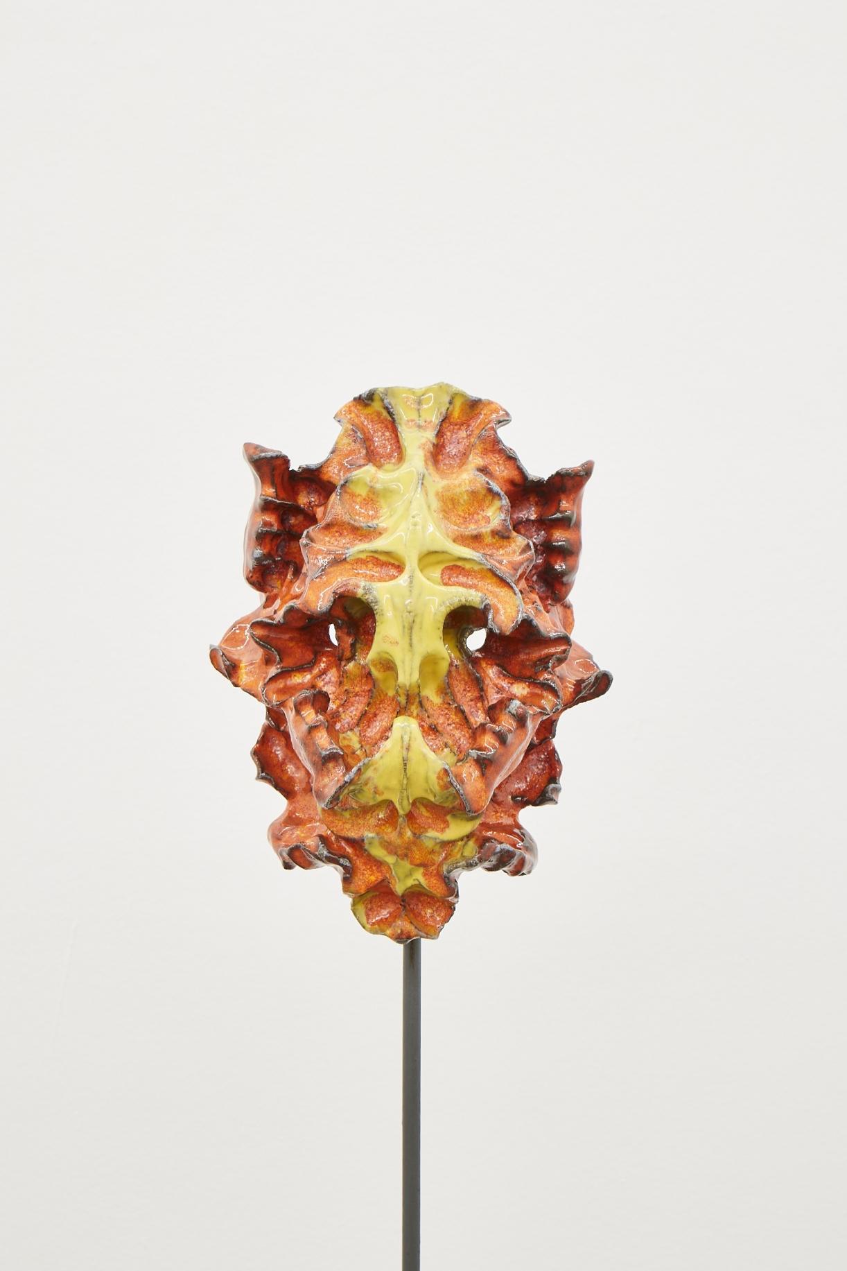 Moritz Altmann, kav, 2017, glazed ceramic, 26 x 37 x 17 cm