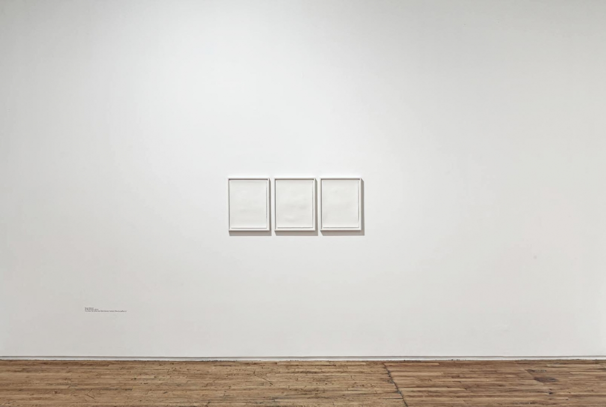 To My Brother, 2012, Installation view, Prefix Institute of Contemporary Art, Toronto, 2019